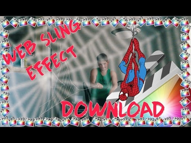 Andreas Hem - Spiderman Web Sling/Shoot Effect | Final Cut Pro