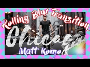 EPIC MATT KOMO Rolling Blur Transition - Final Cut Pro X