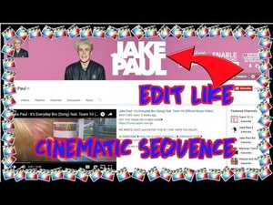 Cinematic Bars | Jake Paul | CRAZY Cinematic Sequence | Final Cut Pro