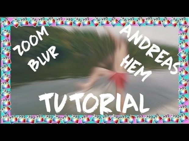 Andreas Hem Zoom Blur Effect Tutorial - Final Cut Pro