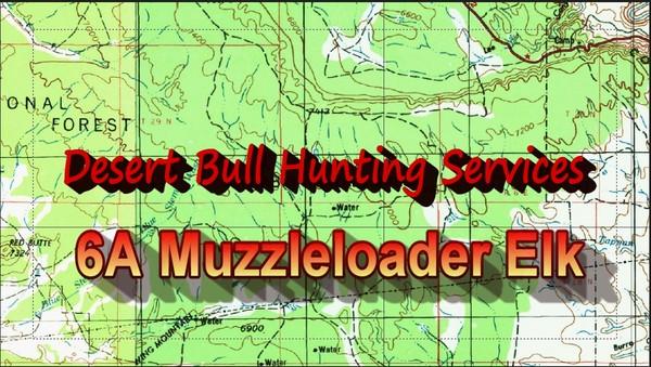Unit 6A Muzzleloader Elk