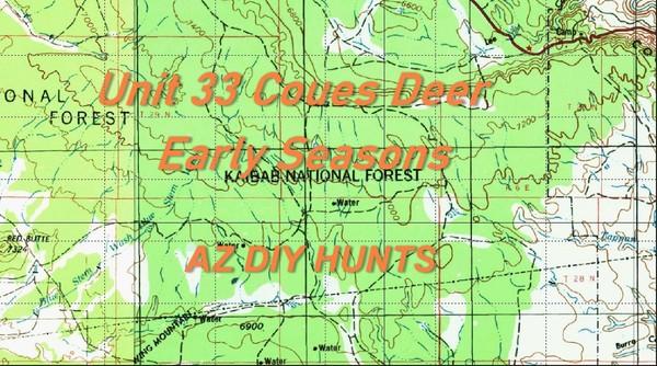 Unit 33 Coues Deer Early Seasons