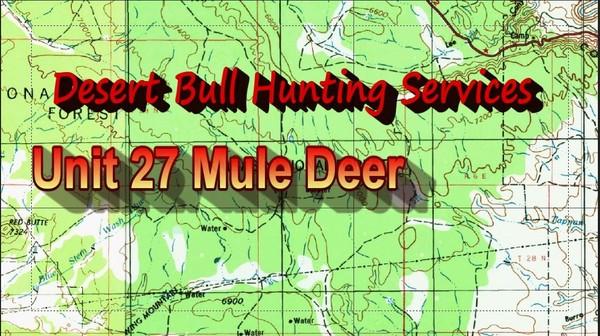 Unit 27 Mule Deer