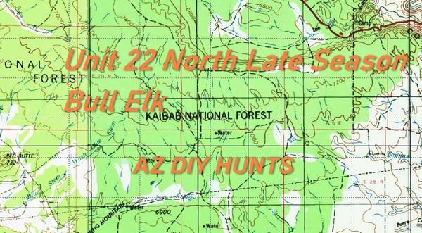 Unit 22 North Late Season Bull Elk