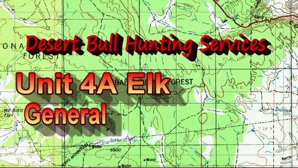 Map Of Unit 4a Arizona.Unit 6a Bear Arizona Diy Hunts