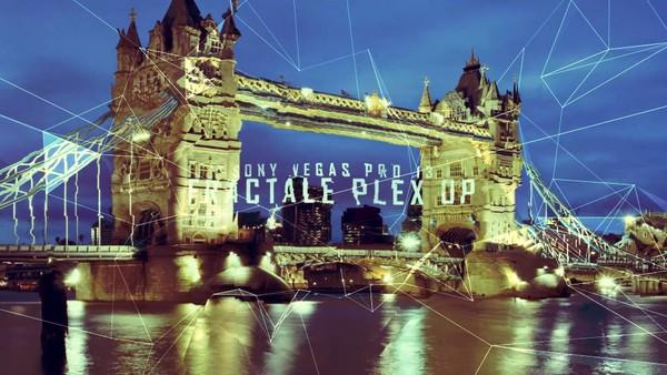 Sony Vegas - Fractale Plex Opening (FHD & 4K)