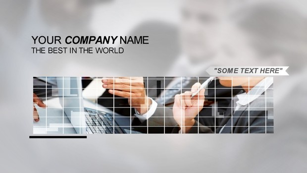 Corporation Boxes - Sony Vegas Template
