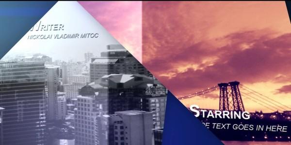 Minimalistic Shards Opening (Sony Vegas Template)