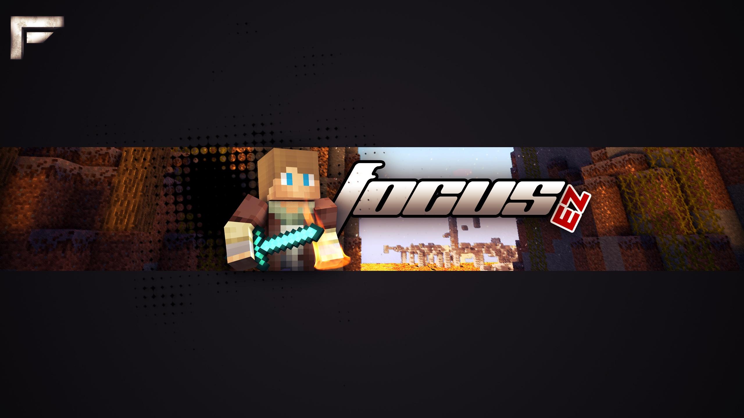 Minecraft Channel Art   FocusGraphics Graphic Deign Shop