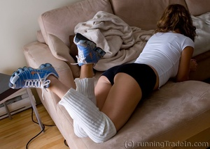 Cinderella in Nike Shox Respond