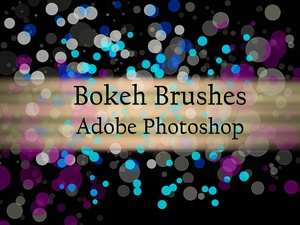 10 Bokeh Brushes for Adobe Photoshop