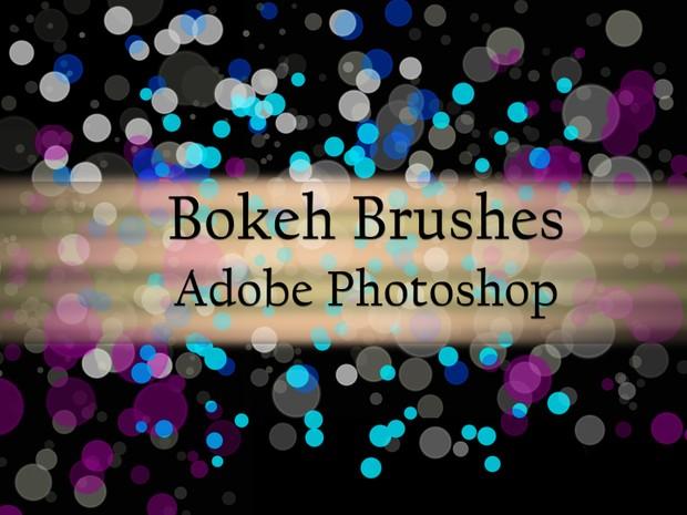 10 Bokeh Brushes for Adobe Photoshop