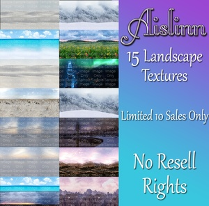 15 Landscape Textures for IMVU ON SALE!