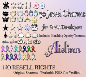 Jewel Charm Textures for IMVU ON SALE!