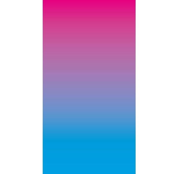 Hot Pink Sky Blue Gradient Wallpaper