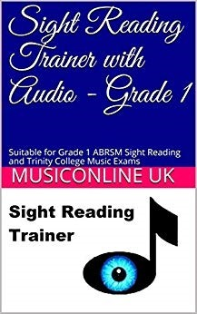 Sight Reading Trainer with Audio - Grade 1
