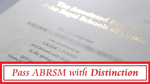 How to get a DISTINCTION at ABRSM