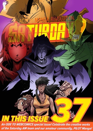 Saturday AM #37 (includes PILOT Manga Vs.)