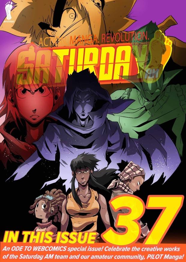 Saturday AM #37 (includes PILOT Manga Vs.)