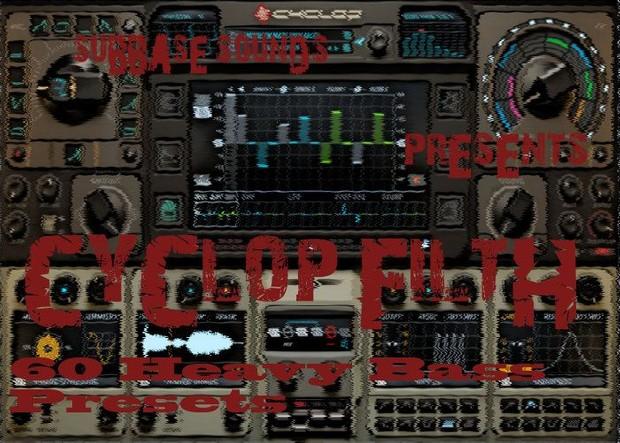 Subbase Sounds Presents Cyclop Filth