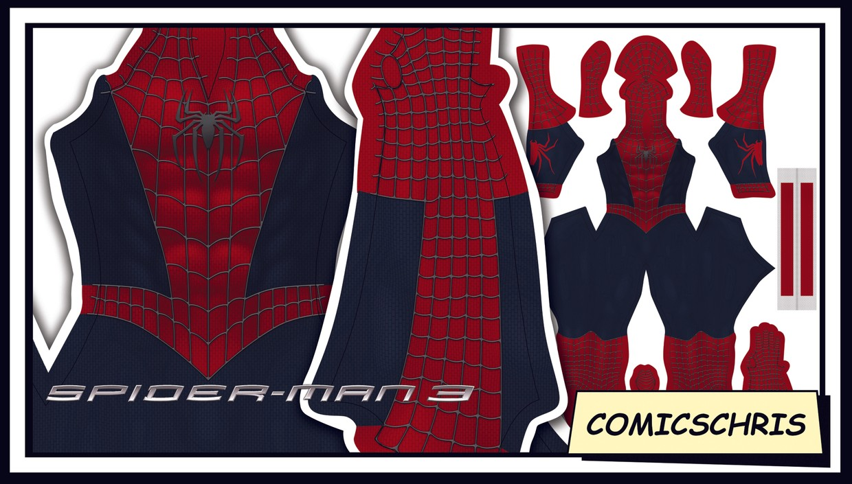 Spider-man Sam Raimi pattern