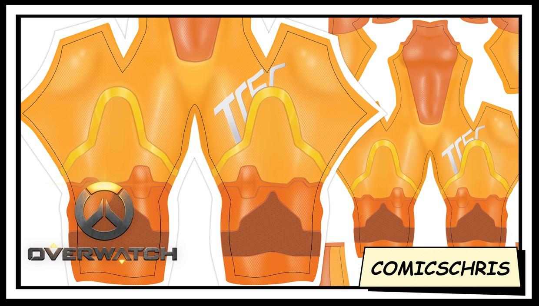 Tracer Overwatch 2 bodysuit