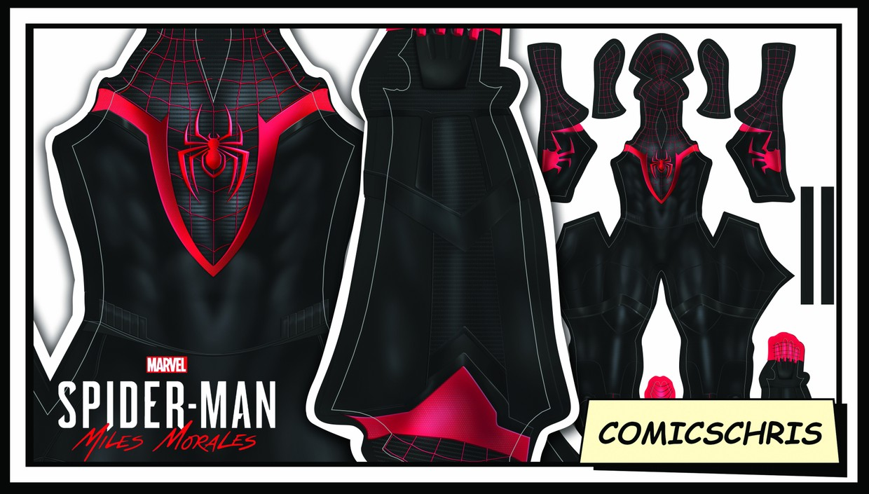 Spider-man Miles Morales PS5 pattern