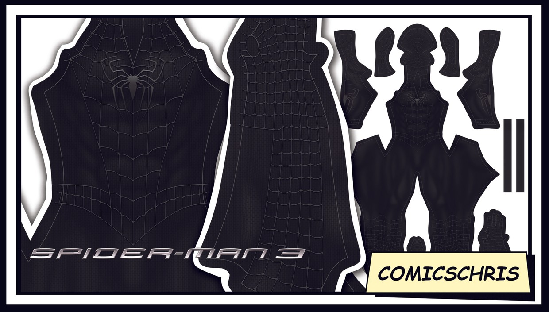 Spider-man Sam Raimi Symbiote pattern