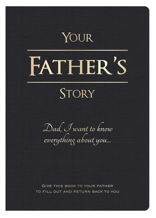 Your Father's Story - Digital PDF Edition (editable)