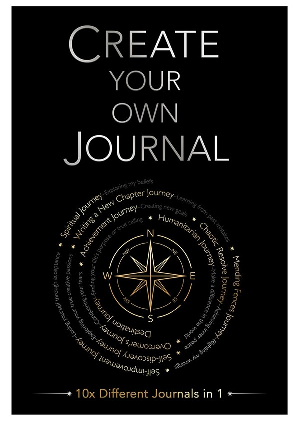 Create Your Own Journal - Digital PDF Edition (editable)