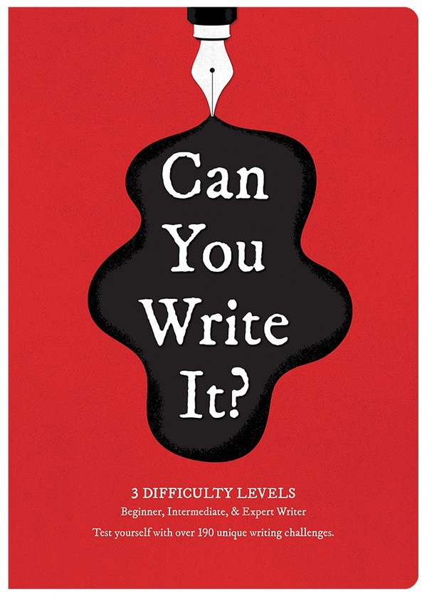 Can You Write It? - Digital PDF Edition (editable)