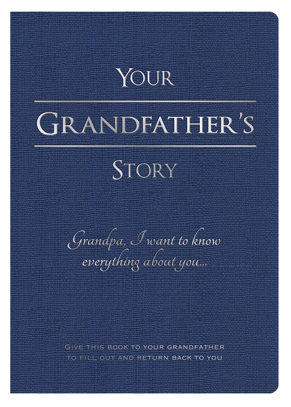 Your Grandfather's Story - Digital PDF Edition (editable)