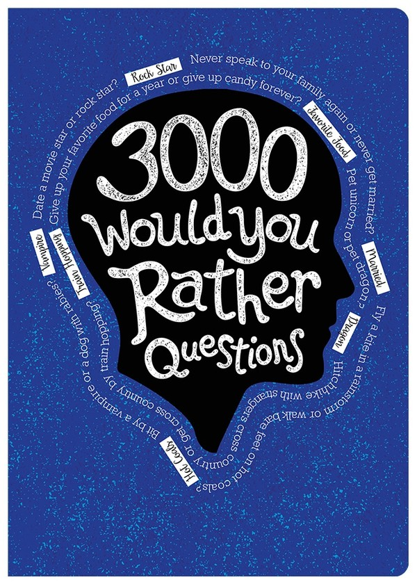 3000 Would You Rather Questions - Digital PDF Edition (editable)