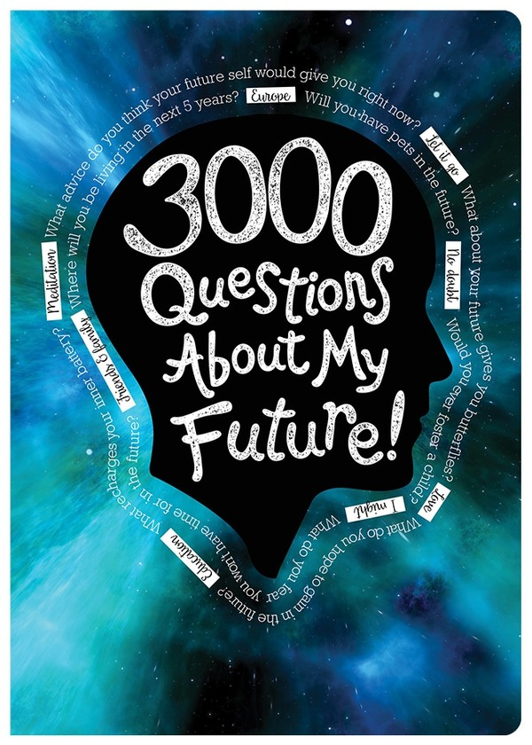 3000 Questions About My Future - Digital PDF Edition (editable)