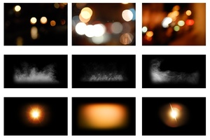 Bokeh-Fog-Light PACK (213MB) (113 Files)