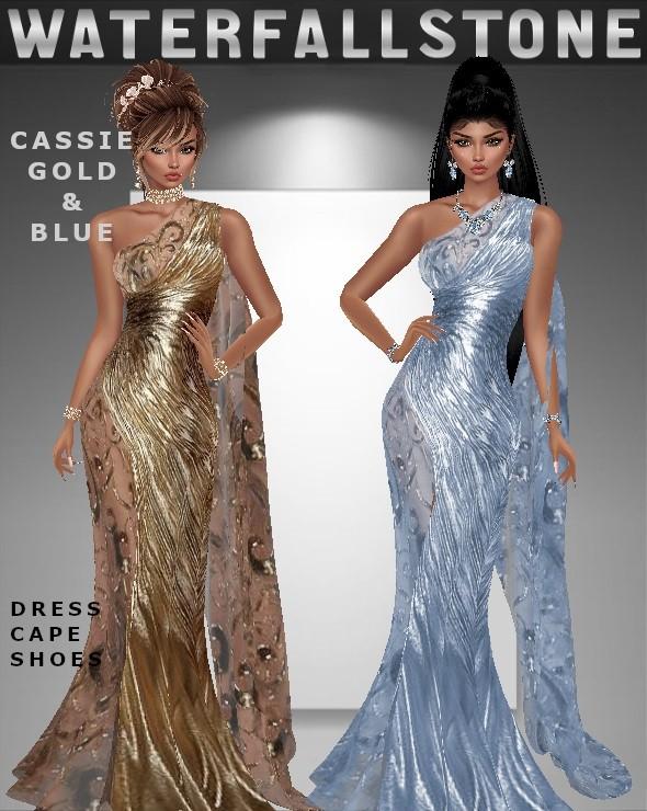 Cassie Gold&Blue