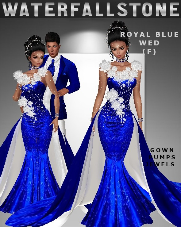 Royal Blue Wed (F)