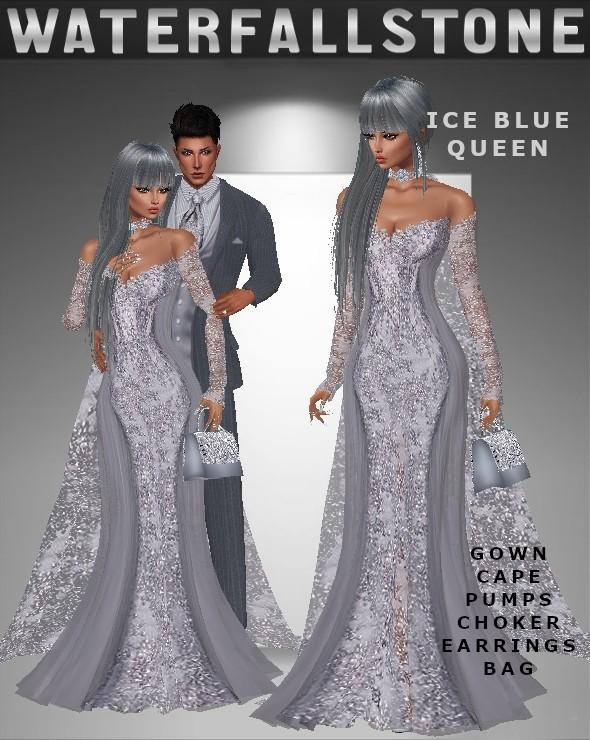Ice Blue Queen