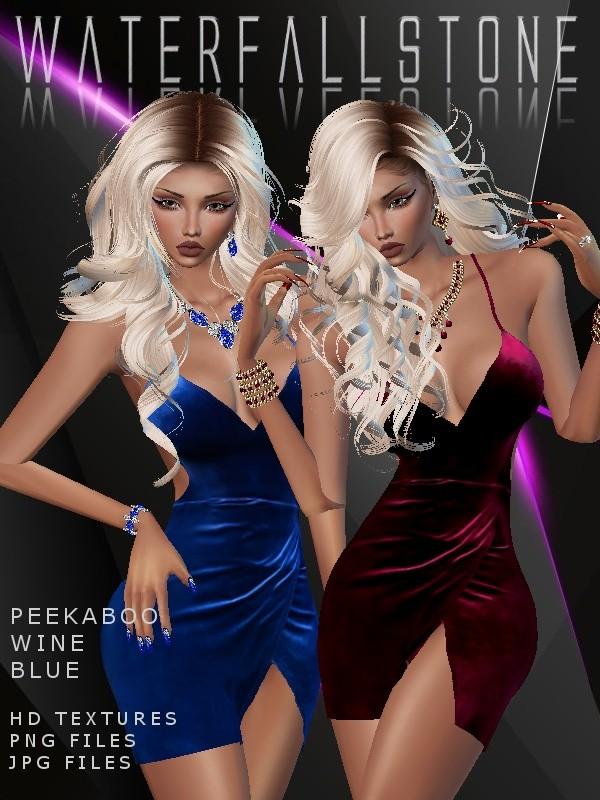 Peekaboo Wine&Blue