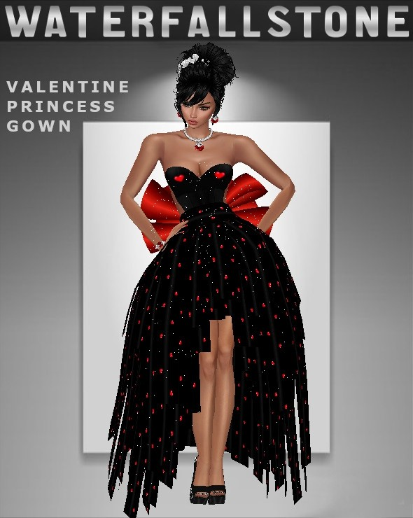 Valentine Princess Gown