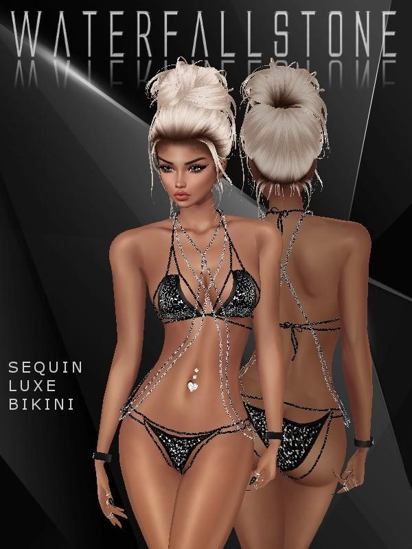 Sequin Luxe Bikini
