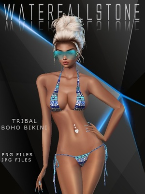 Tribal Boho Bikini