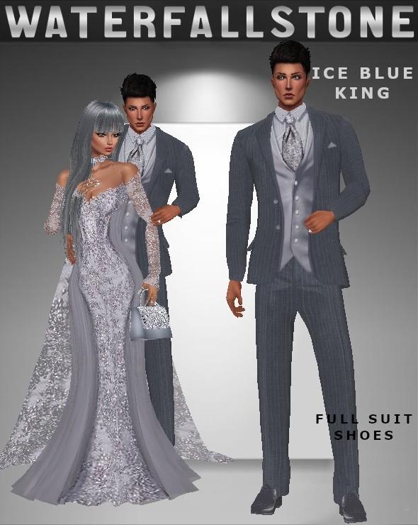 Ice Blue King