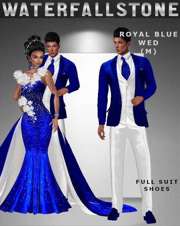 Royal Blue Wed (M)