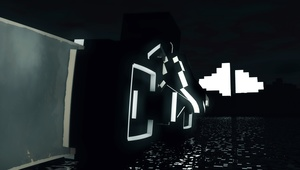 Minecraft | Tron light cycle