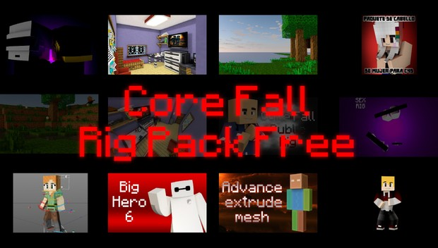 Core Fall Rig Pack Free