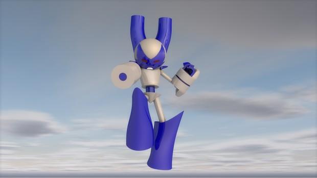 Super Robot Boy (CINEMA 4D)