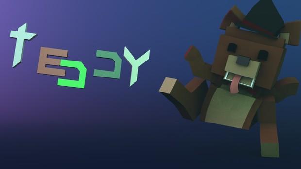 Minecraft Bear plush (teddyV3.4)