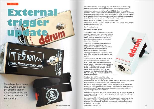 Go Trigger: digitalDrummer guide to internal, external and DIY drum triggers