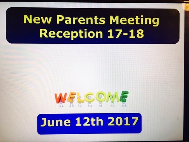 NEW PARENTS MEETING - 35 POWERPOINT SLIDES EYFS